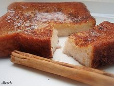 He comprado pan de molde, la variedad especial para tostadas. Son rebanadas más gruesas de las habituales, asì que por lo tanto aunque sigue...