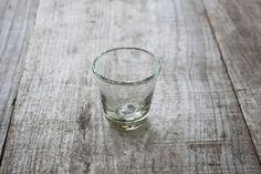 日々の暮らし : ガラス工房清天 : 気泡ミニグラス