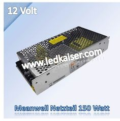 LED Trafo 150W DC12V Meanwell http://ledkaiser.com