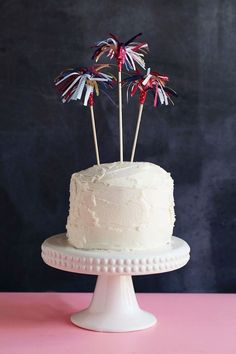 Tell Love and Party has collected four different 4th July cake toppers over on her blog. Have a browse and pick your favourite. 4th July crafts for tasty bakes are always a winner in our books.