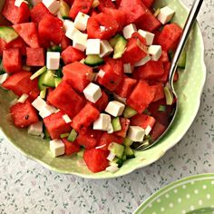 Easy Salad Recipes, Easy Salads, Healthy Recipes, Healthy Food, Salad Menu, Salad Dishes, Crab Stuffed Avocado, Light Summer Dinners, Cottage Cheese Salad