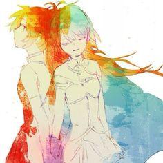 Kyoko and Sayaka
