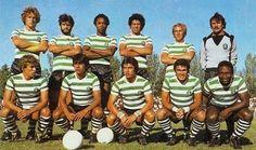 Sporting 1980-Eurico,Barão,Jordão,Menezes,Márinho,Fidalgo. Ademar,Manuel Fernandes,Inácio,José Eduardo,Manoel.