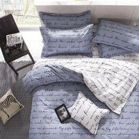 Note : 1.This bedding set does not include any comforter or filling ,you can put your own comforter