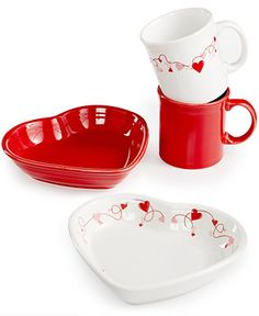 Fiesta Hearts Collection - Fiesta Ware - Browse - Macy's