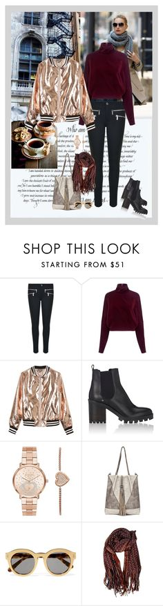 """""""One little shiny thing.  : )"""" by style-stories ❤ liked on Polyvore featuring MICHAEL Michael Kors, McQ by Alexander McQueen, Sans Souci, Barneys New York, Michael Kors, STELLA McCARTNEY and Missoni"""