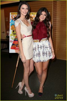 Kendall and Kylie Jenner in their night-outfits for their Seventeen Issue Celebration!