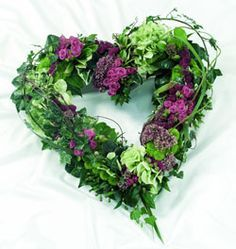eco funeral flowers circle - Google Search