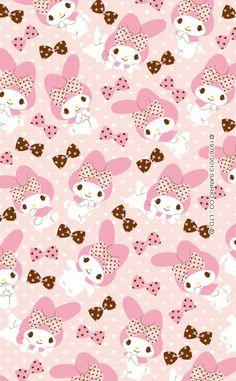 マイメロディ iPhone壁紙 Wallpaper Backgrounds iPhone6/6S and Plus  My Melody iPhone Wallpaper