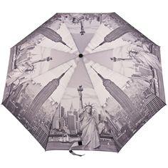 City Scape Folding Umbrella - New York - Brolliesgalore