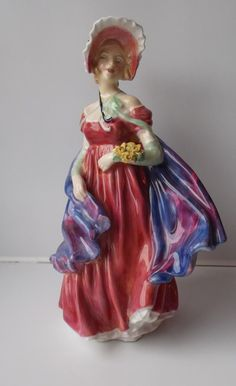 Rare Royal Doulton Figure Lady April, £99.99 or best offer http://www.ebay.co.uk/itm/Rare-Royal-Doulton-Figure-Lady-April-HN1958-Made-in-England-/261700488449
