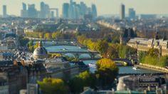 Paris en miniature et en time lapse | Video here : http://alexblog.fr/time-lapse-paris-miniature-49205/