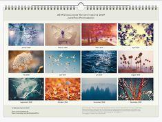 Advent, November 2019, Bokeh, Photography, Etsy, Vintage, Art, Photo Calendar, Wall Calendars