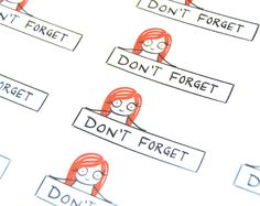 Don't forget headers, planner for use with erin condren planners, reminder stickers, daily stickers, functional, 12 stickers, PPC101 by PumpkinPaperCo on Etsy https://www.etsy.com/listing/275619764/dont-forget-headers-planner-for-use-with