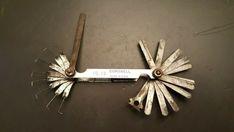 Vintage Cornwell FG-18 Spark Plug Gapping Feeler Gauge Tool Mae in USA #Cornwell