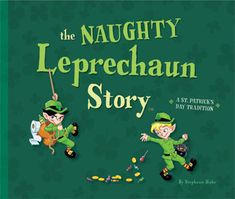 MADE OTP! The Naughty Leprechaun Story (like The Elf on The Shelf)
