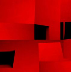 Azurebumble : Red Constructions (photocollage)