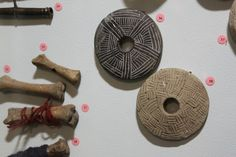 Textile tools from the History Museum of Latvia. 10-12th centuries.