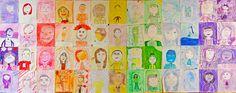 Miss Beam Makes Art: Monochromatic Self-Portraits