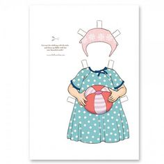 Free Download from Belle and Boo - Dress Up Belle Outfit - Beach Fun!