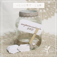 memory jar - with free printable downloads in english and polish