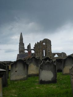 Whitby Abbey from St Mary's Churchyard