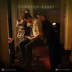 DowntonObsession via you-had-me-at-downton: DowntonAbbey_Official | Lights…Camera…Sleep?