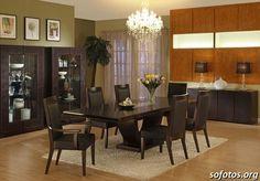 Sala de jantar decorada 54
