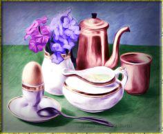 20 mejores imágenes de Bodegones | Bodegas, Tazas de té