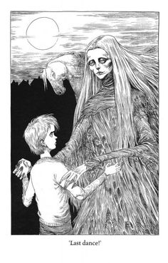 The Graveyard Book by Neil Gaiman, illustrated by Chris Riddell