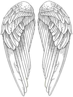 Angel Wings Pictures- Snitch wings A WHOLE BOARD OF PRINTABLES...  MOSTLY BLACK AND WHITE..  http://www.pinterest.com/violethoarder/printables-bw-illust/