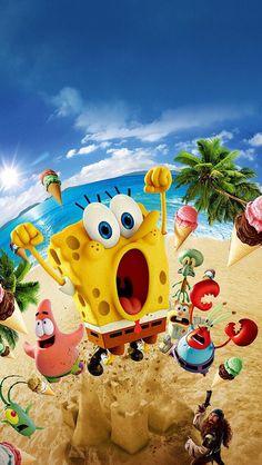 Spongebob Iphone Wallpaper, Simpson Wallpaper Iphone, Cartoon Wallpaper Iphone, Cute Disney Wallpaper, Tumblr Wallpaper, Cute Wallpaper Backgrounds, Spongebob Memes, Spongebob Squarepants, Movie Wallpapers