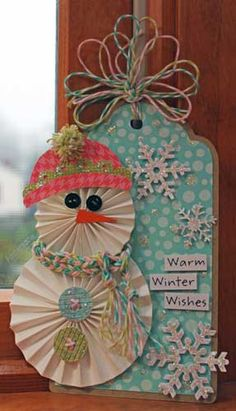 Warm Winter Wishes - Scrapbook.com  This is so great!!  I will do this, or at least try!!