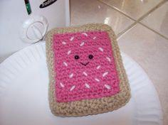 Stitchy Kitty Happy Tart Crochet Toy