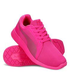 Pink St Trainer Evo Jr Running Shoe - Kids #zulily #zulilyfinds