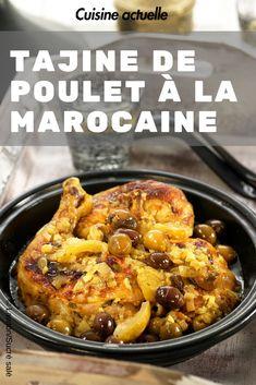 Tajin Recipes, Meat Recipes, Mexican Food Recipes, Chicken Recipes, Cooking Recipes, Recipe Chicken, Plats Ramadan, Moroccan Chicken, Ramadan Recipes