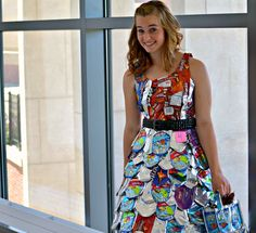 Juice Box Swagger #projectfashioncamp #fashion #recycledfashion
