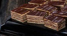 Hatlapos recept   APRÓSÉF.HU - receptek képekkel Hungarian Cake, Hungarian Recipes, Russian Cakes, Cake Cookies, I Foods, Deserts, Food And Drink, Cooking Recipes, Sweets