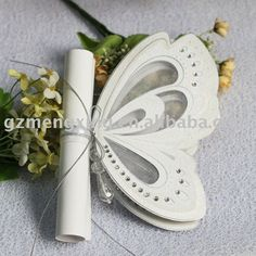 This invitation is for a wedding but could be used for a garden b-day party...