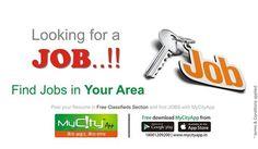 #mycity #classifieds #jobpost #free #classifieds