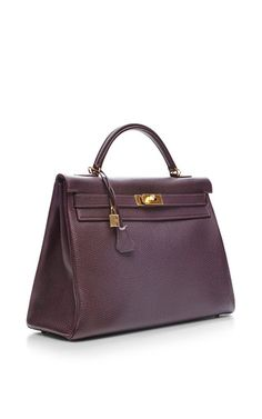 e0b4d7297635 Hermes 40 Cm Raisin Togo Retourne Kelly by HERITAGE AUCTIONS SPECIAL  COLLECTION for Preorder on Moda