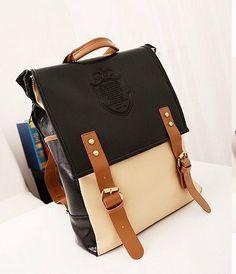2013 New Retro Vintage Women's Backpack School Bag Fashion Travel School PU Leather Handbag