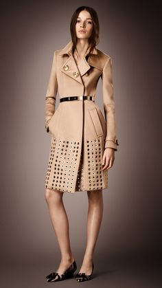 Love this Burberry coat.