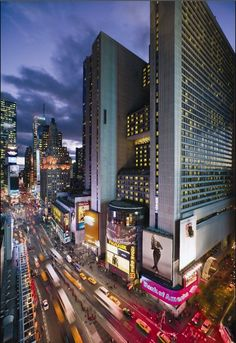 New York City Marriott Marquis Hotel in Times Square