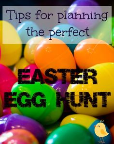Tips to planning a successful and easy easter egg hunt for kids of all ages. #easter #bunnytrail
