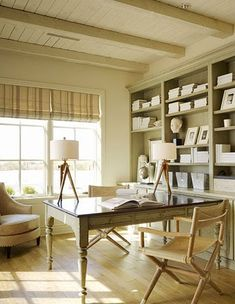 bennington gray cabinets / lancaster whitewash walls