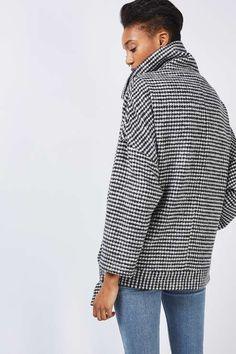 Monochrome Houndstooth Jacket