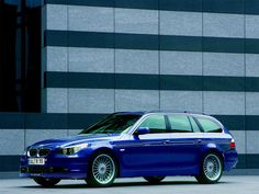 E61 Alpina B5 Touring. Another cruising alternative to a V10 M5