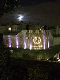 Love this image taken by Shawbrook Bank after the #MFAwards with the full moon over the Tower of London.