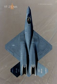 YF-23; the prettier of the ATF competitors